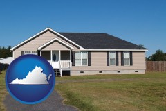 virginia a manufactured home