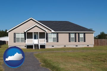 a manufactured home - with Kentucky icon