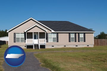 a manufactured home - with Tennessee icon