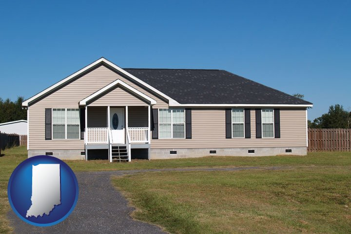 Manufactured, Modular & Mobile Home Dealers in Indiana
